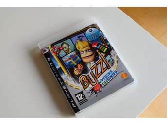 PS3 Playstation 3 spel BUZZ svenska genier