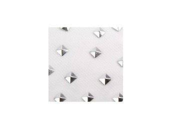 Charmsies Silver Pyramid Studs