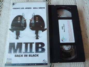 MIIB, BACK IN BLACK,  VHS, FILM, ACTIONKOMEDI