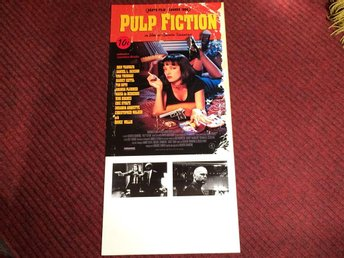 KULT-FILM PULP FICTION Tarantino John TRAVOLTA Uma THURMAN B WILLIS FRI FRAKT