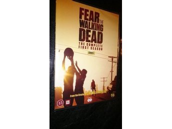 Fear The Walking Dead 2015 First Season 10 Episodes 2 disc DVD  NY Svensk Text