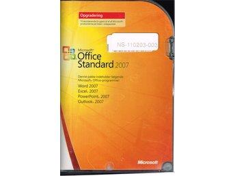 Microsoft Office 2007 Standard Uppgradering på Danska (kan ändras!) med licens! - Malmö - Microsoft Office 2007 Standard Uppgradering på Danska (kan ändras!) med licens! - Malmö