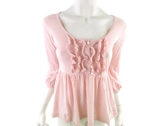 Odd molly 3/4 Sleeve Blouse Pink powder 100% Cotton Sweden