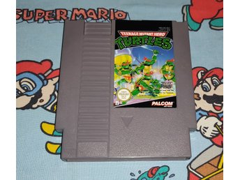 Teenage Mutant Ninja Turtles till Nintendo 8bit! 1kr