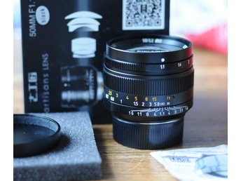 DJ-Optical 7Artisans 50mm f1.1 Leica M mount - For Sony, Panasonic, Fuji, Leica