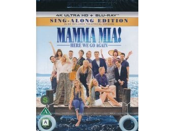 Mamma Mia! 2 Here We Go Again 2018 114 Min  4K Massa Extra Matrial Blu-ray Ny