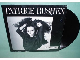 "PATRICE RUSHEN - Watch out , 12""MAXI 1987 ,"