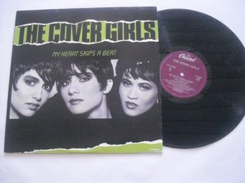 "The Cover Girls -My heart skips a beat 12"" Capitol rec 1989"