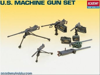 Academy Machine gun set 1/35