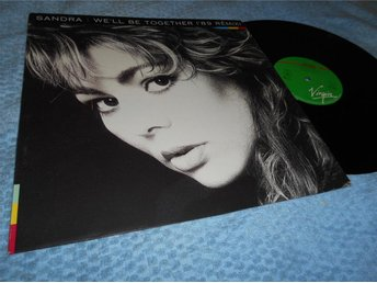 Sandra - We'll Be Together ('89 Remix) (12a) VG+/VG+