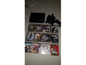 Playstation 3 500gb Super slim 12 spel