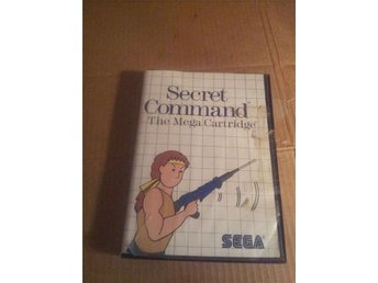 Secret command sega mastersystem i box ej manual