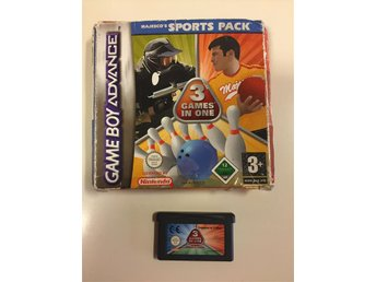 GBA Majesco's SPORTS PACK (3 Games in one)
