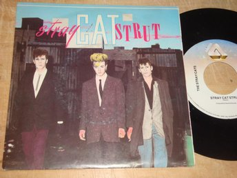 "STRAY CATS THE - STRAY CAT STRUT 7"" 1981"