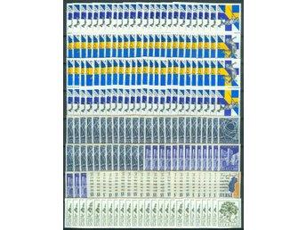 100x 6:50 kr brevporto postfriskt med 2 märken - Bad Sooden-allendorf - 100x 6:50 kr brevporto postfriskt med 2 märken - Bad Sooden-allendorf