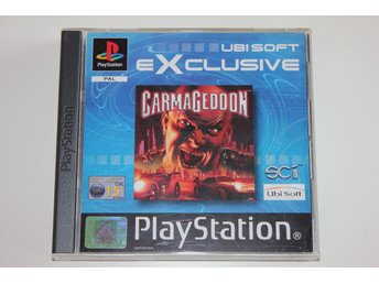 Carmageddon Ubisoft Exclusive - Playstation 1 / PS1 spel