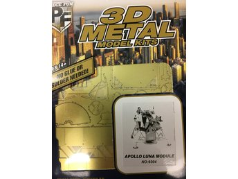 TILLFÄLLIGT PARTI! 3D Pussel Metall - APOLLO LUNA MODULE - Arboga - TILLFÄLLIGT PARTI! 3D Pussel Metall - APOLLO LUNA MODULE - Arboga