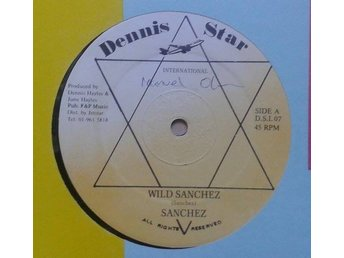 "Sanchez / Krystal Deen title* Wild Sanchez / One Woman* Reggae, Dancehall 12"" UK"