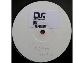 "IRS title* Typhoon* Trance Promo W/L 12"" SWE"
