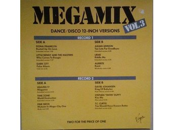 Various titel* Megamix Vol. 3* Electro,Synth-pop, New Wave, Disco EU 2 x LP