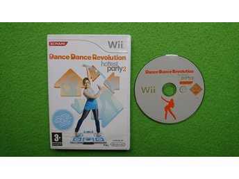 Dance Dance revolution Hottest Party 2 Wii Nintendo Wii
