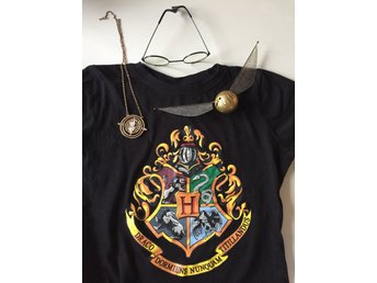 Harry Potter Kit T-shirt gyllene kvicken glasögon