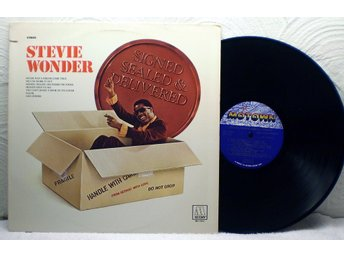 STEVIE WONDER - SIGNED SEADLED & DELIVERED