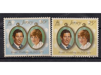 Jersey 1981 Royal Wedding postfriskt