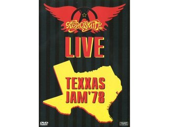 Aerosmith -Texxas Jam 78 dvd with Ted Nugent Amazing show