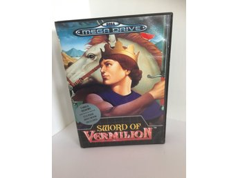 Sega Megadrive Sword of Vermillion