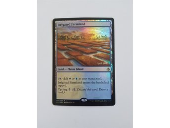 Magic the gathering - Irrigated Farmland - promo - Amonkhet