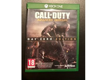 Xbox one Call of Duty Advanced warfare day zero