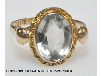 1 ring m sten 18k 3,3 gr Ø 17 mm, V11579
