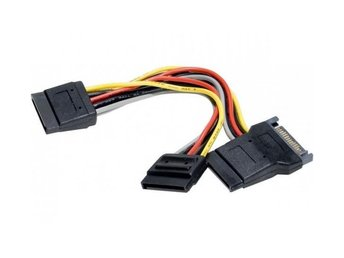 EXC Power Y Cable/Adapter SATA to 3 x SATA 0.3m