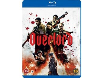 Overlord 2018 110 Min Svtxt Blu-ray  Action Zombie Krigs film