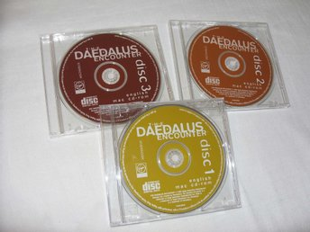 Daedalus Encounter Mac CD ROM spel