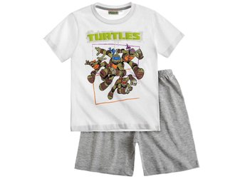Ninja Turtles vit/grå pyjamas 140 cl