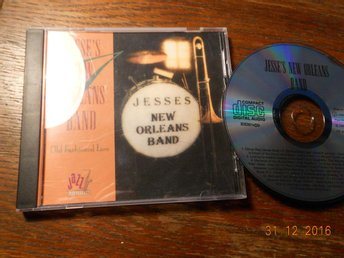 JESSE'S NEW ORLEANS BAND - Old fashioned love, CD  Scana 1996