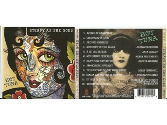 HOT TUNA - STEADY AS SHE GOES (CD 2011) - Minsk - HOT TUNA - STEADY AS SHE GOES (CD 2011) - Minsk