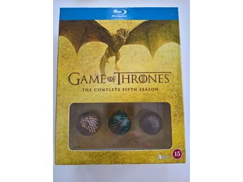 Game Of Thrones: Säsong 5 Limited Dragon Egg Edition 4-disc, Blu-Ray, Region All