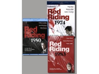 RED RIDING Trilogy NY !! Red Riding 1974, 1980, 1983 THRILLER TV-serie UK fynd !