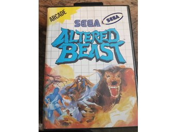Altered Beasts SEGA master system Box