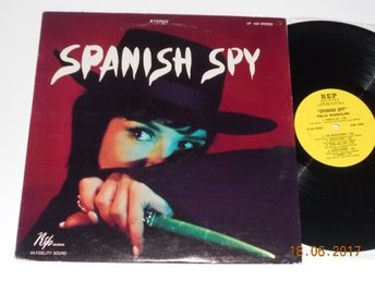 FELIX RANDOLPH - Spanish Spy, LP Rep USA 1966 Latin Mod R&B