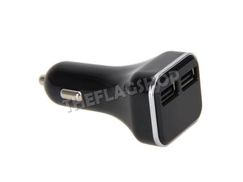 Dual USB 4.8A Billaddare Adapter LED Display Snabb Laddning till iPhone Samsung - Hong Kong - Dual USB 4.8A Billaddare Adapter LED Display Snabb Laddning till iPhone Samsung - Hong Kong