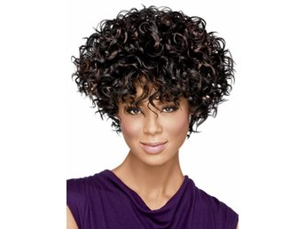 Natural Short Kinky Curly Wig Cheap Fashion Heat Resistant Synthetic Hair Wigs