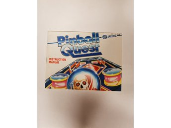 Pinball Quest - Manual NES NINTENDO - USA