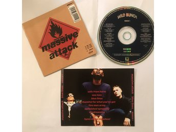 MASSIVE ATTACK - Blue Lines CD trip hop dub electronic
