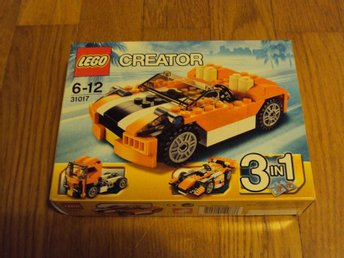 LEGO - Creator 3 in 1 Sunset Speeder (nr 31017) Ny!