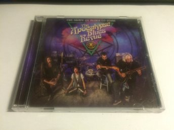 THE APOCALYPSE BLUES REVUE The Shape Of Blues To Come CD 2018 Import Blues Rock