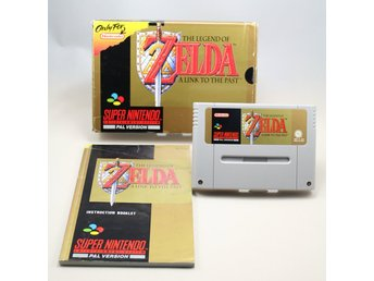 THE LEGEND OF ZELDA - A LINK TO THE PAST -ONLY FOR NINTENDO- SCN- CIB -SNES